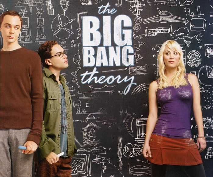the big bang theory série
